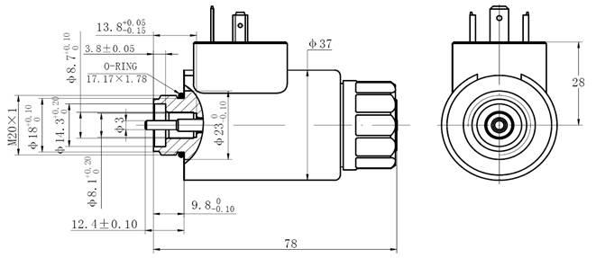 yaofeng hydraulic professional hydraulic solenoid manufacturer